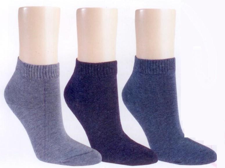 """Kurzstrumpf ,,Jeans"""" (3er Pack)"""