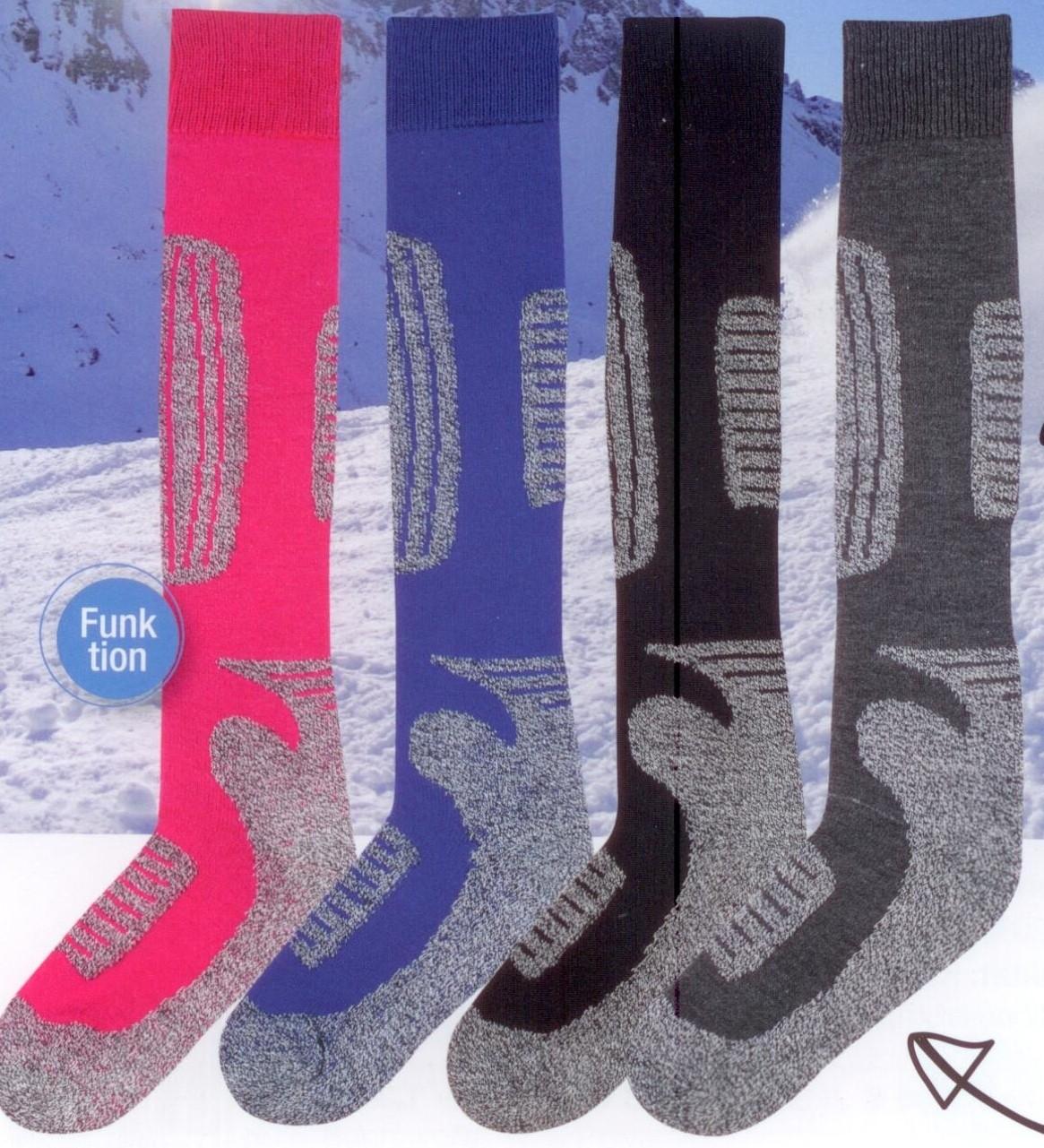 Funktions Ski Kniestrumpf (2er Pack)