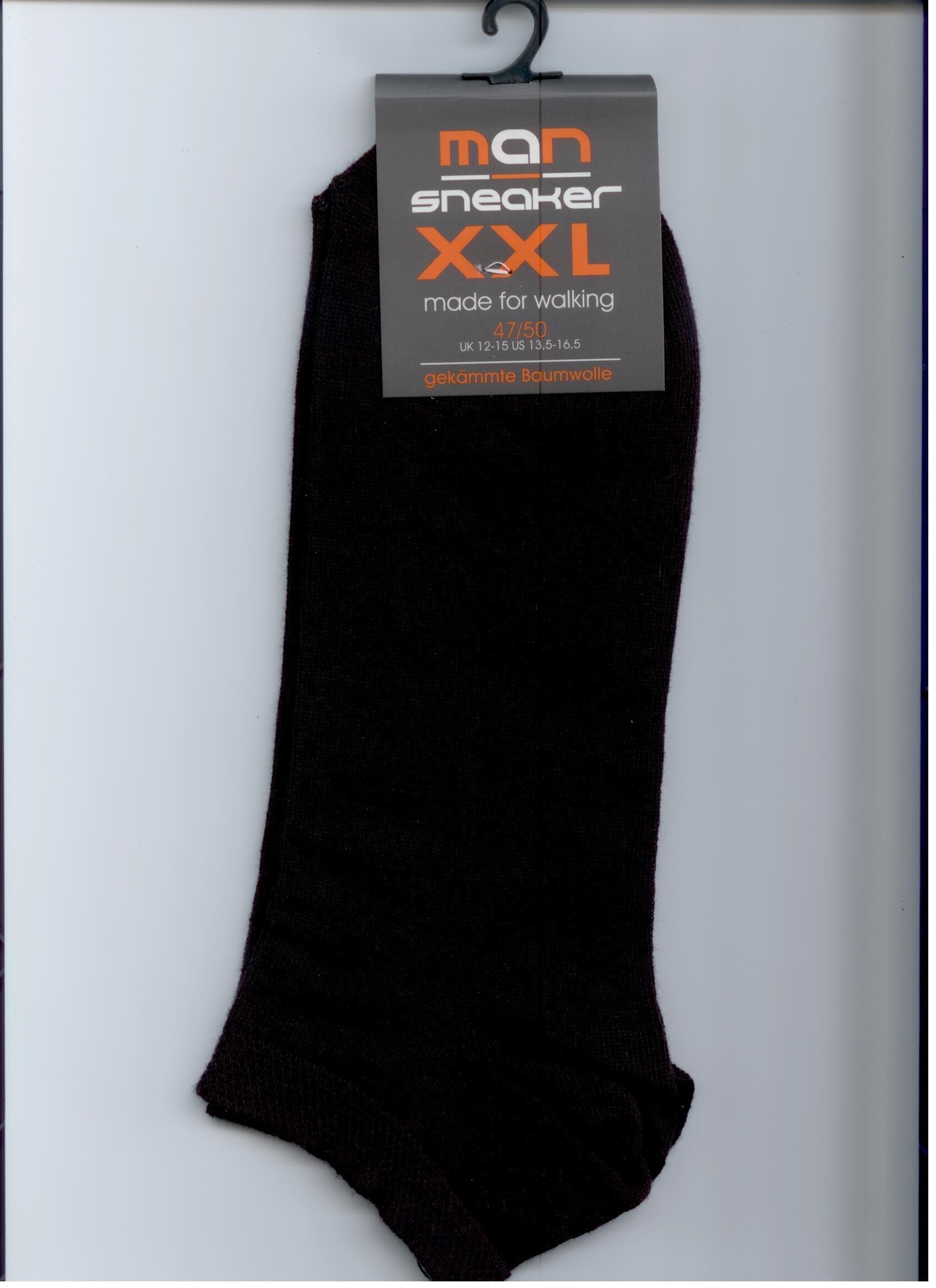 Herrensneakers XXL (4er Pack)