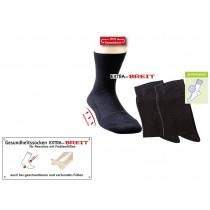 Gesundheitssocken Extra-Breit (2er Pack)