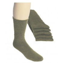 Tennissocken  olivgrün (5er Pack)
