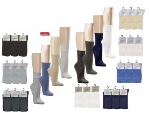 Gesundheitssocken (3er Pack)