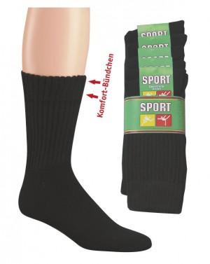 Tennissocken Komfort (5er Pack)